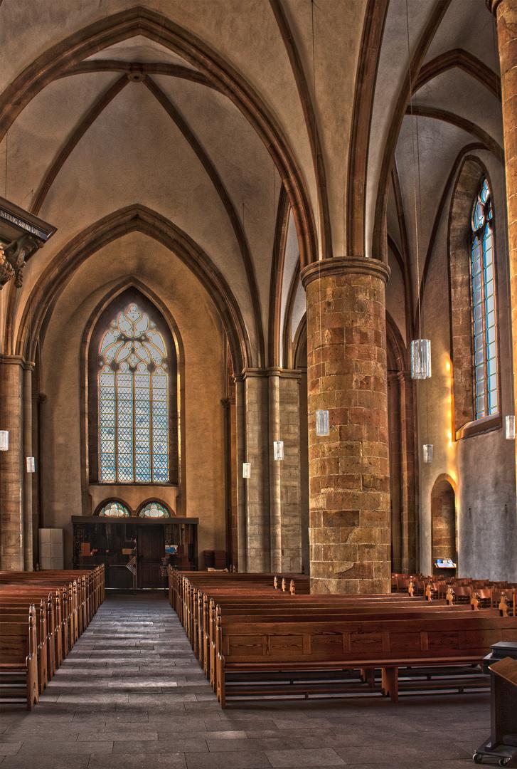 St. Marienkirche, Westfschiff