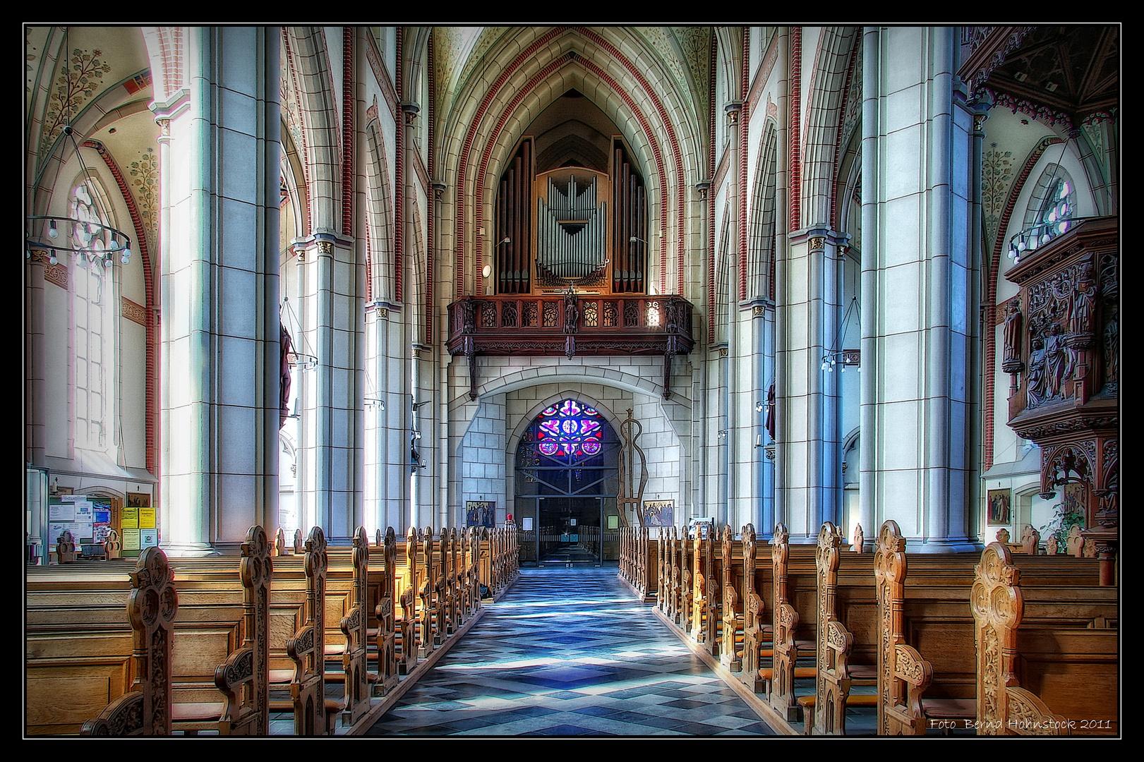 St. Michael Waldniel Orgel ...