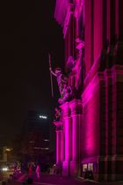 St. Michaelis Kirche in pink
