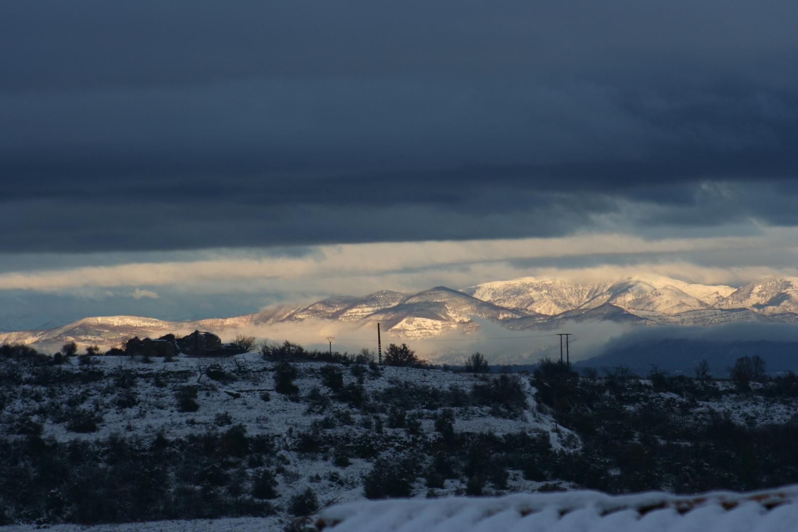 st michel l'observatoire sous les nuages