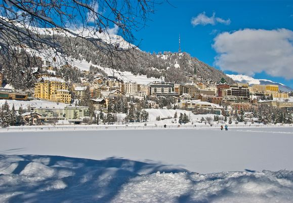 St. Moritz im Winterkleid