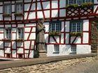 St. Nepomuk auf der mittleren Eltzbrücke in Monreal / Eifel