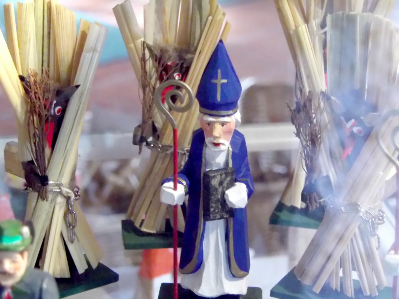 St. Nikolaus und seine Kramperl