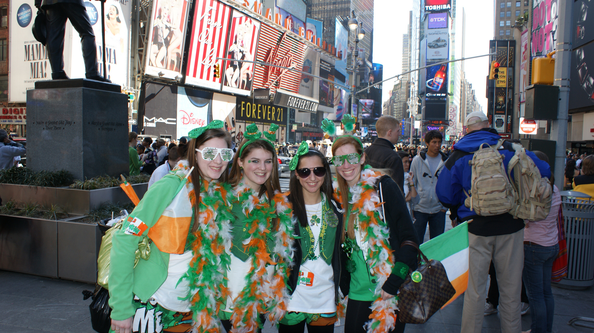 St. Patricks day 2010 NY