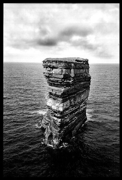 St. Patrics head in Irland