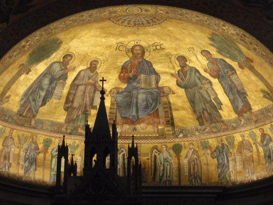 St. Paul vor den Mauern, Mosaik