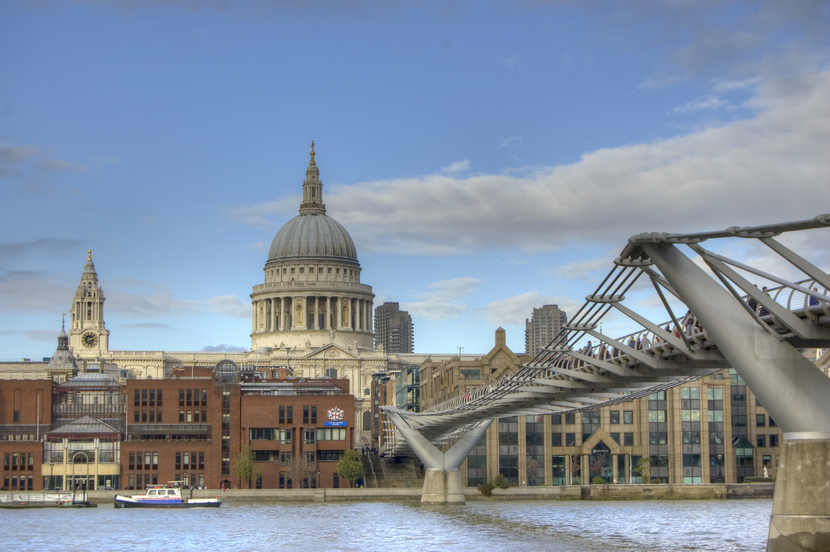 St. Paul's Cathedral & Millenium Bridge