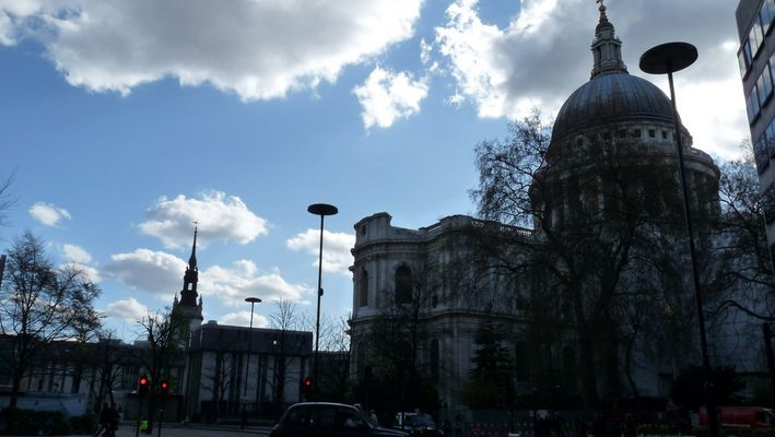 St. Paul's Cathedral, Sir Christopher's Wren's masterpiece