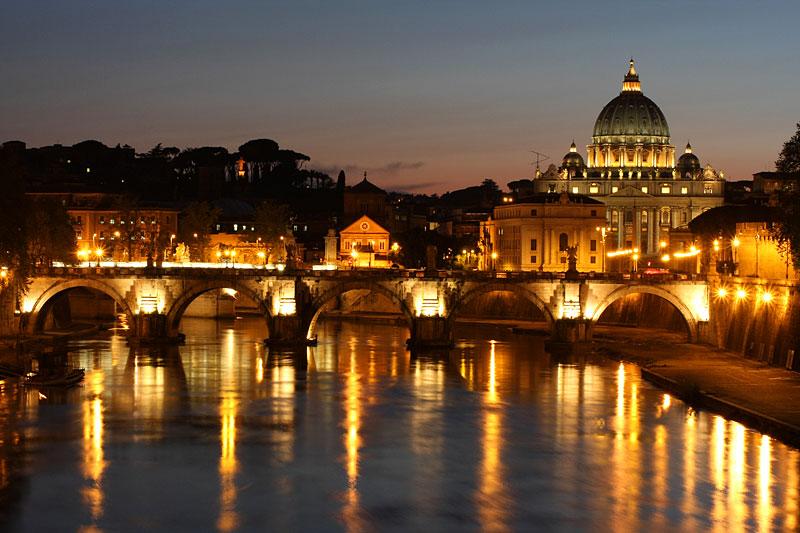 St. Peter und die Engelsbrücke