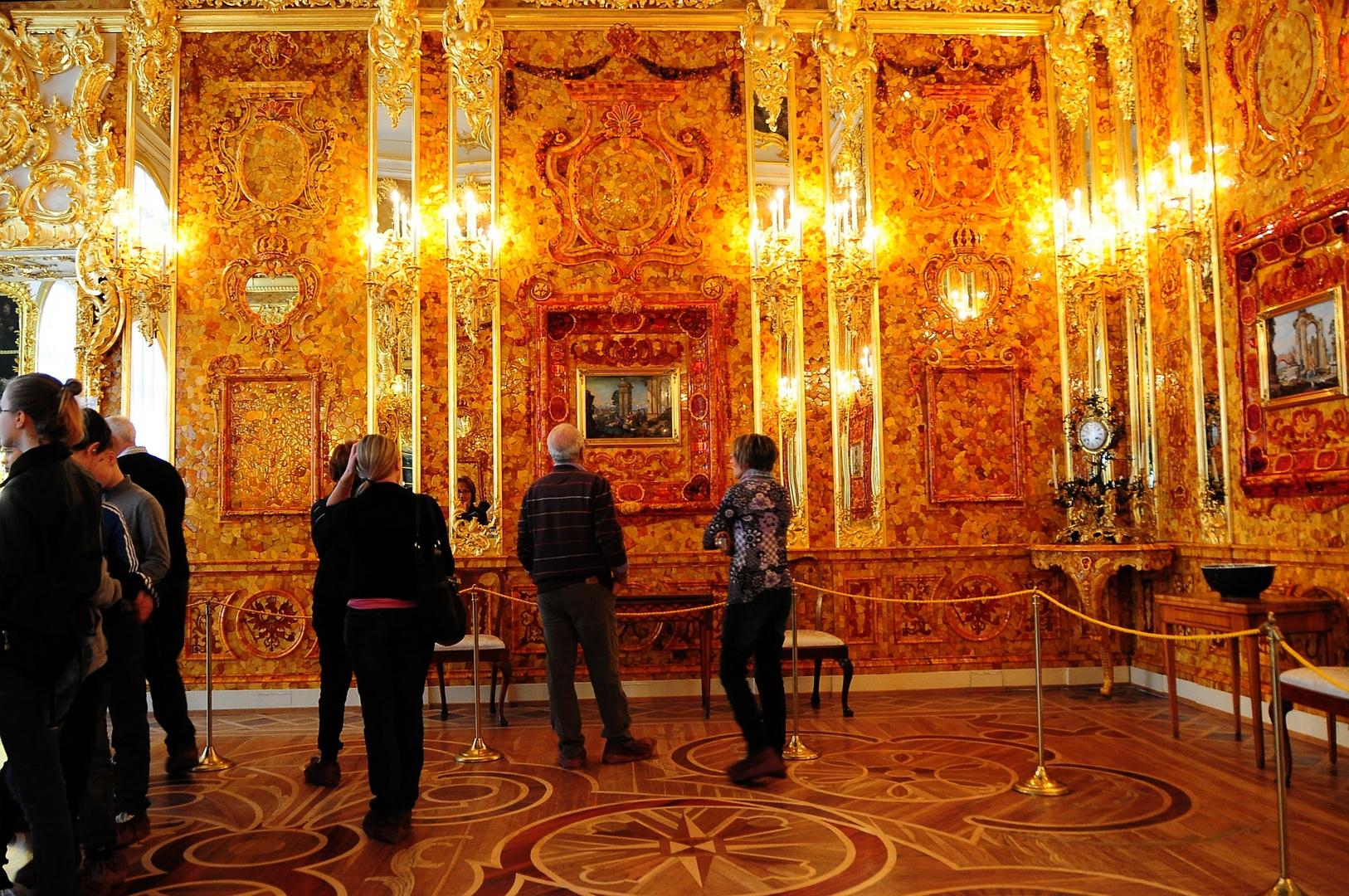 St. Petersburg (10) - Katharinen-Palast, Puschkin