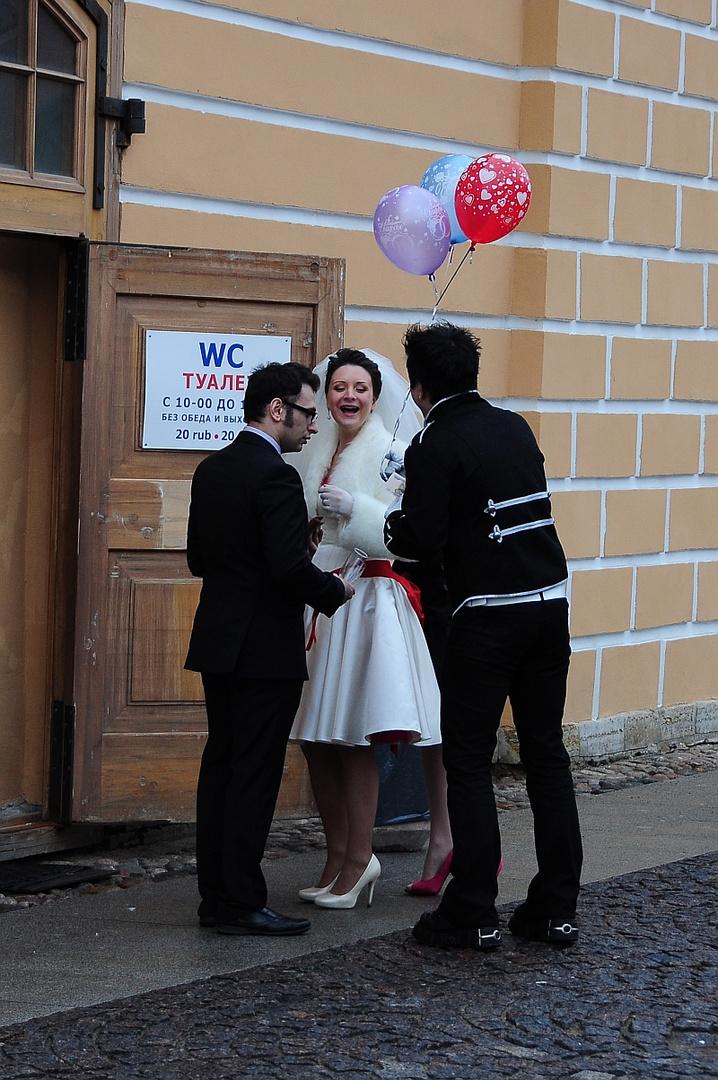 St. Petersburg (21) - Hochzeit