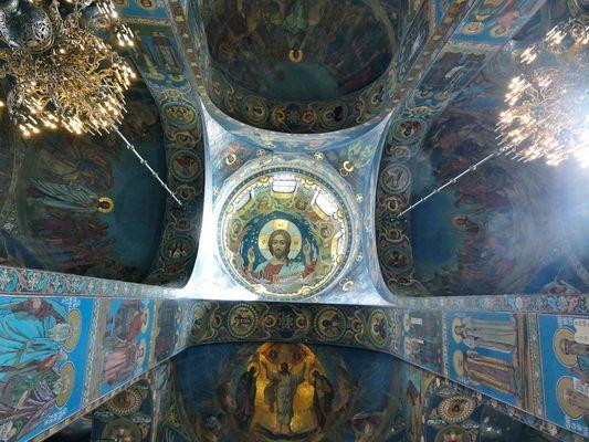 St. Petersburg - Blutskirche - noch ein Blick