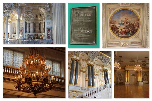 St. Petersburg - Erememitage bzw. Winterpalast