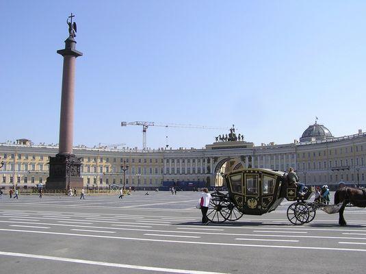 St. Petersburg im Frühjahr 2009