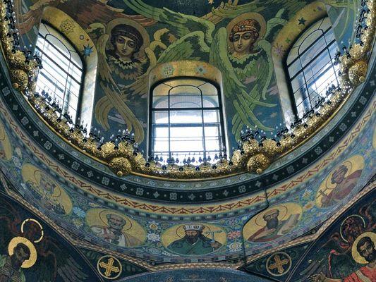 St. Petersburg - Im Inneren der Blutskirche