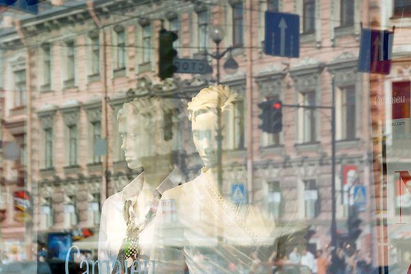 St. Petersburg - Schaufenster