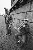 St-Petersburg. Strassenmusik.