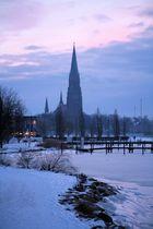St. Petri Dom vor Sonnenaufgang