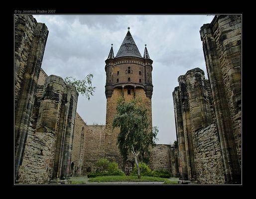St. Sixti Ruine in Merseburg