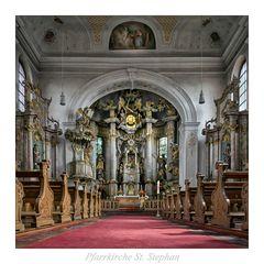 """St Stephan - Mainz  """"  Gott zu Gefallen... """""""