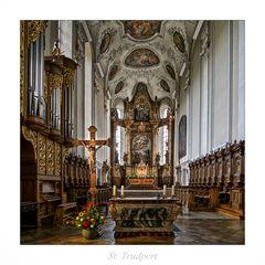 """St. Trudpert """" Gott zu Gefallen...."""""""