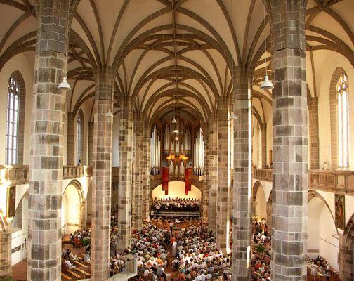 St. Wolfgangskirche in Schneeberg