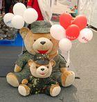 Staatsbesuch: Leutnant Teddy und Sohn