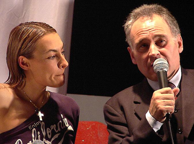 Staatsminister Erwin Huber und Marusha