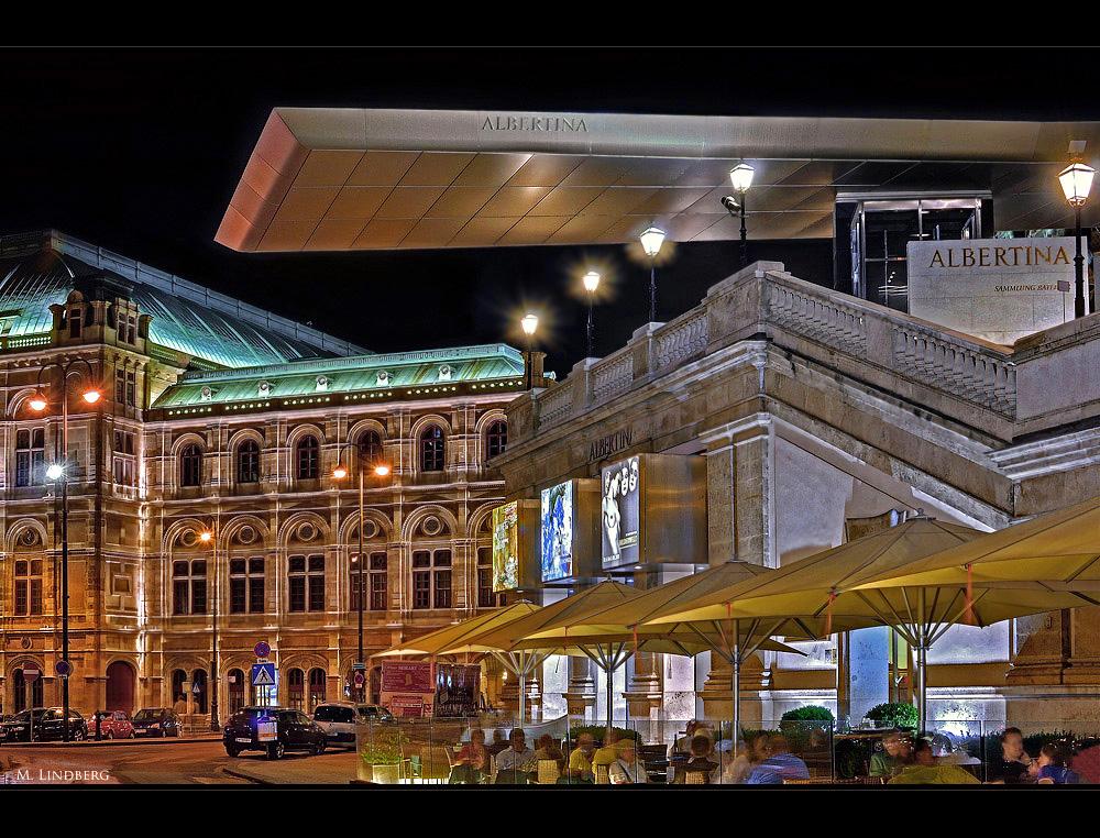 Staatsoper und Albertina, Wien