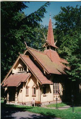 Stabkirche bei Stiege/Harz