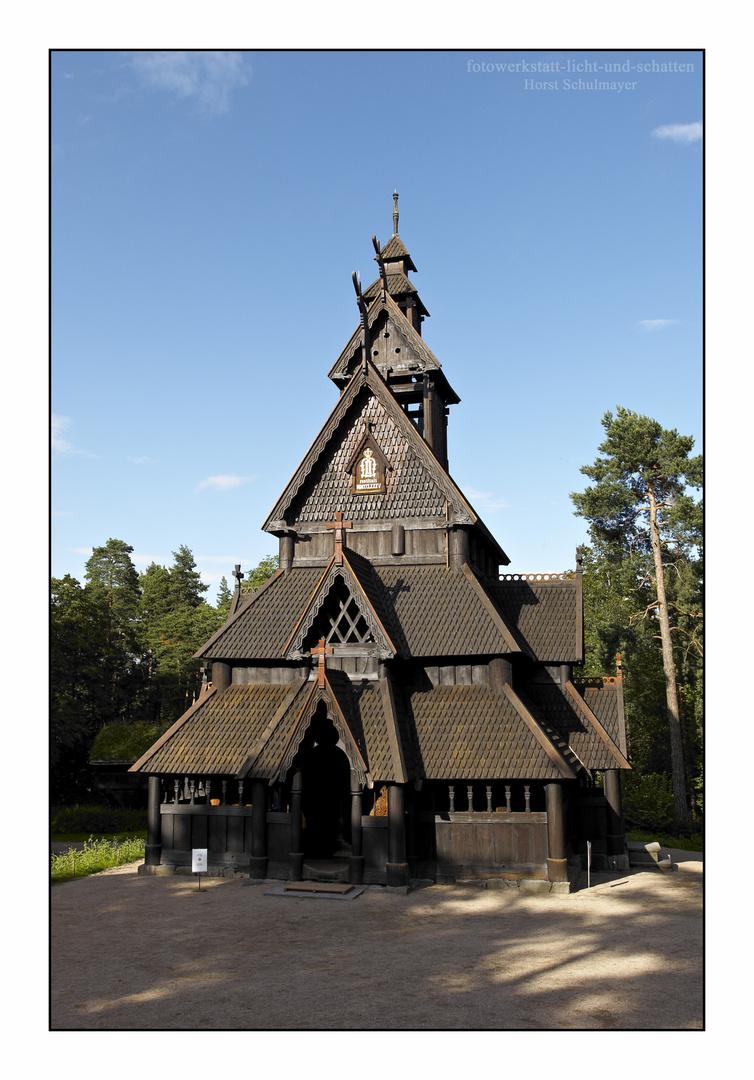 Stabkirche Gol - Oslo 1