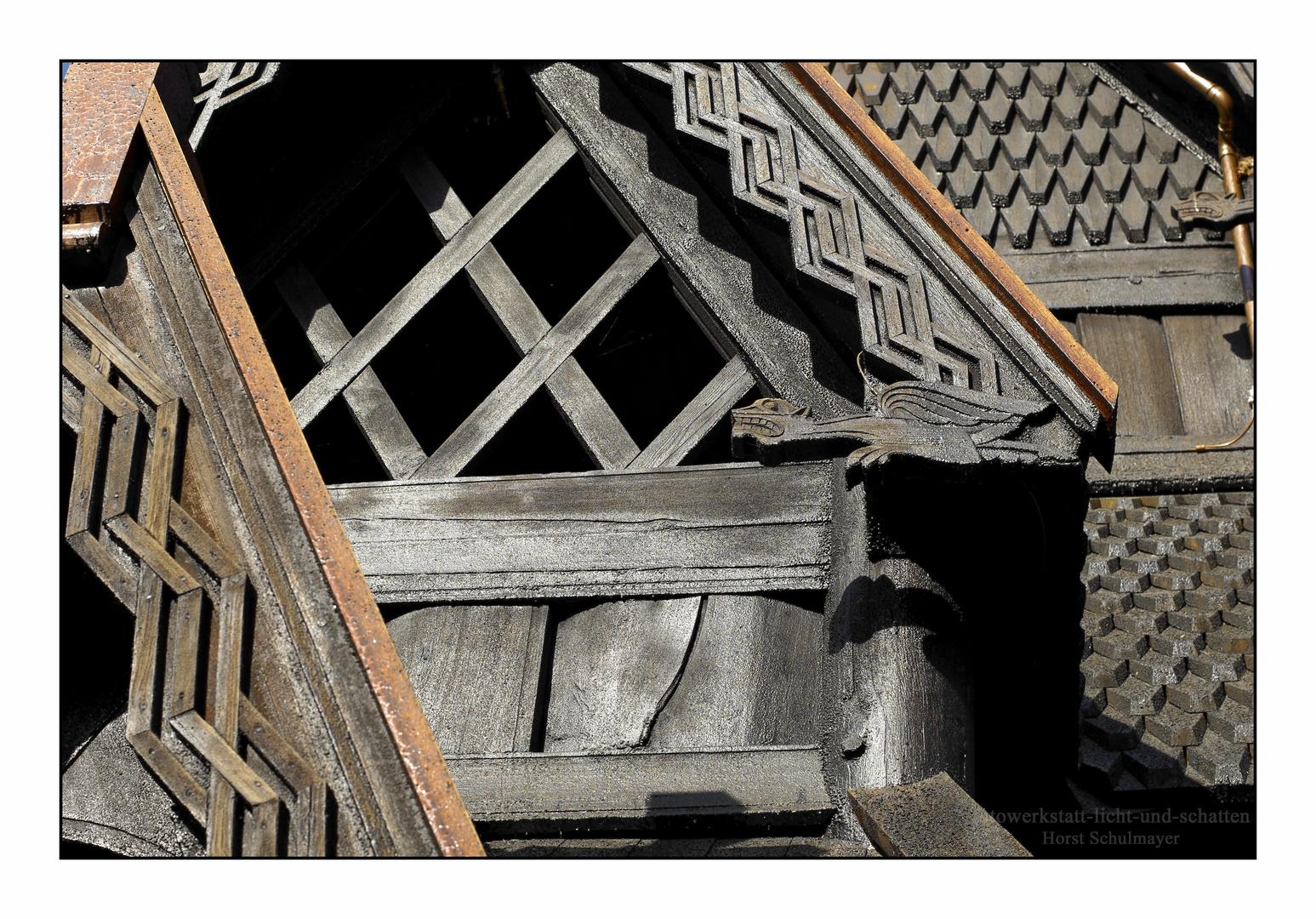Stabkirche Gol - Oslo 2, Detail