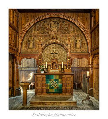 """Stabkirche-Hahnenklee """" Gott zu Gefallen..."""""""