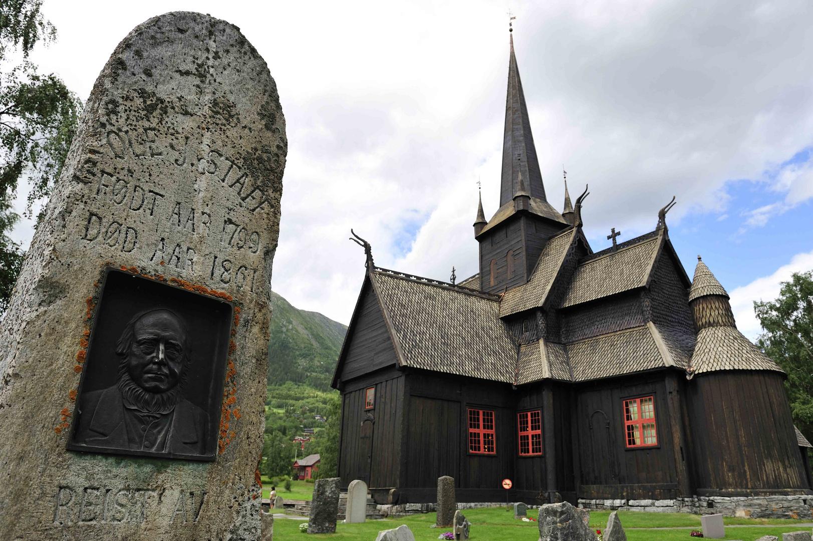 Stabkirche in Lom