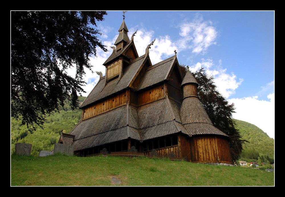 Stabkirche in Vik i Sogn