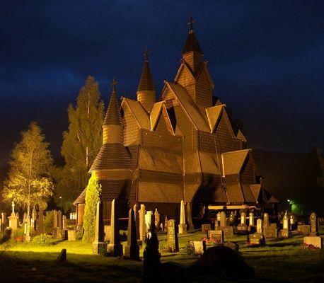 Stabkirche von Heddal/Notodden