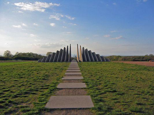 Stabpyramide in Dreieich
