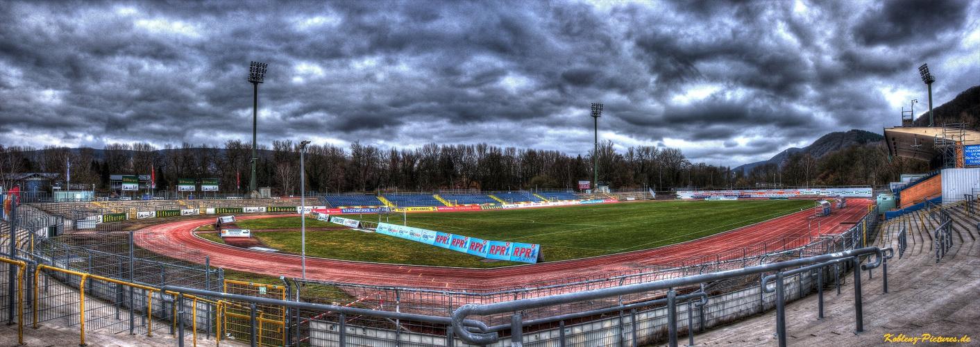 Stadion Oberwerth Panorama (TuS Koblenz)