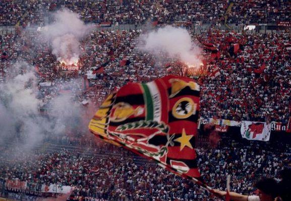 Stadion San Siro-Wo AC Milan/Mailand spielt
