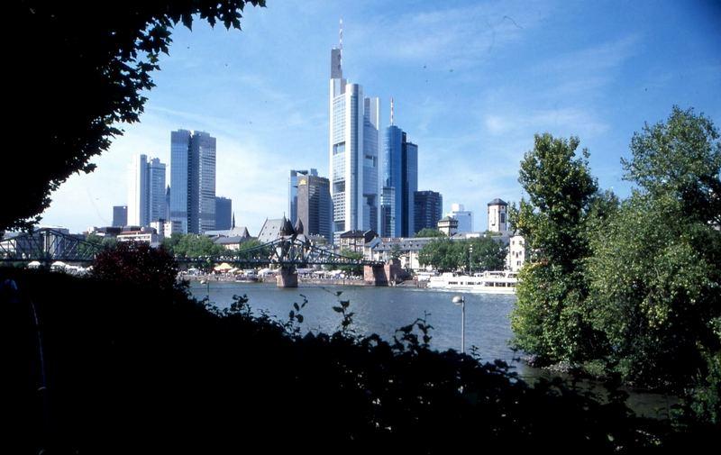Stadt am Fluss