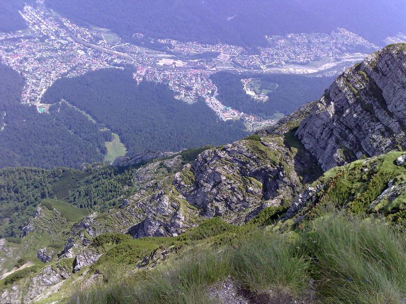 Stadt Busteni (Bucegi Berge, Rumänien)