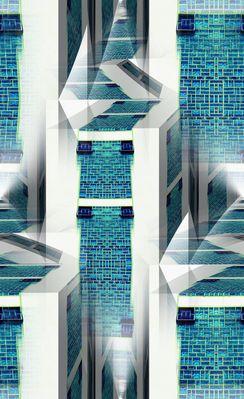 Stadt der Glasbausteine II