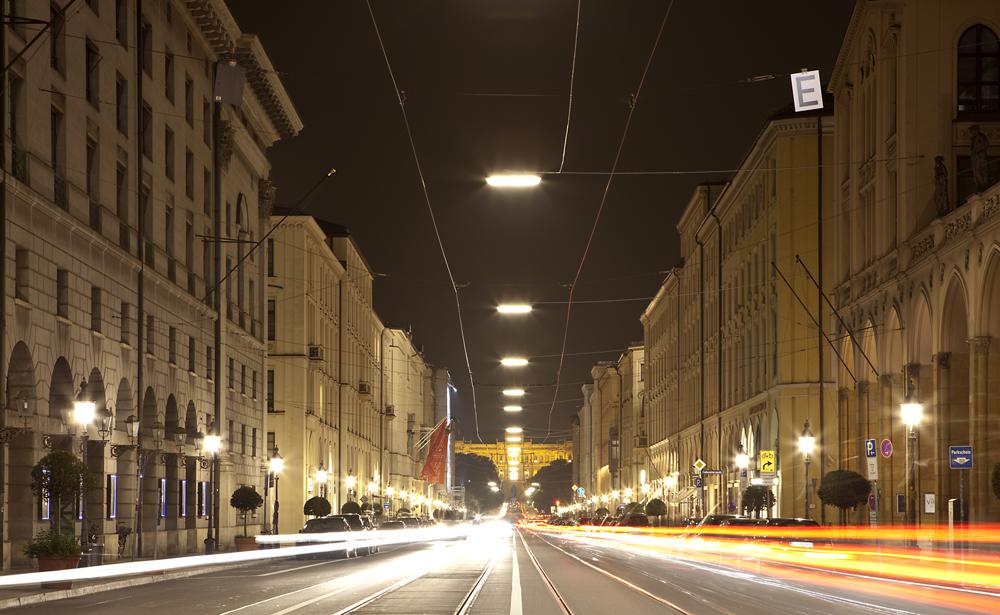 Stadt der Lichter - Maximilianstraße München