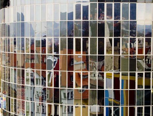 Stadt im Spiegel