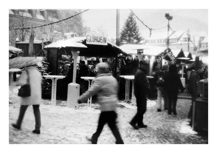 Stadt im Winter IV