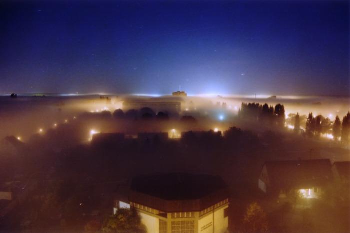 Stadt in den Wolken...