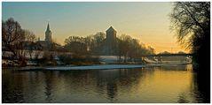 Stadt-Schloß in Oswiecim