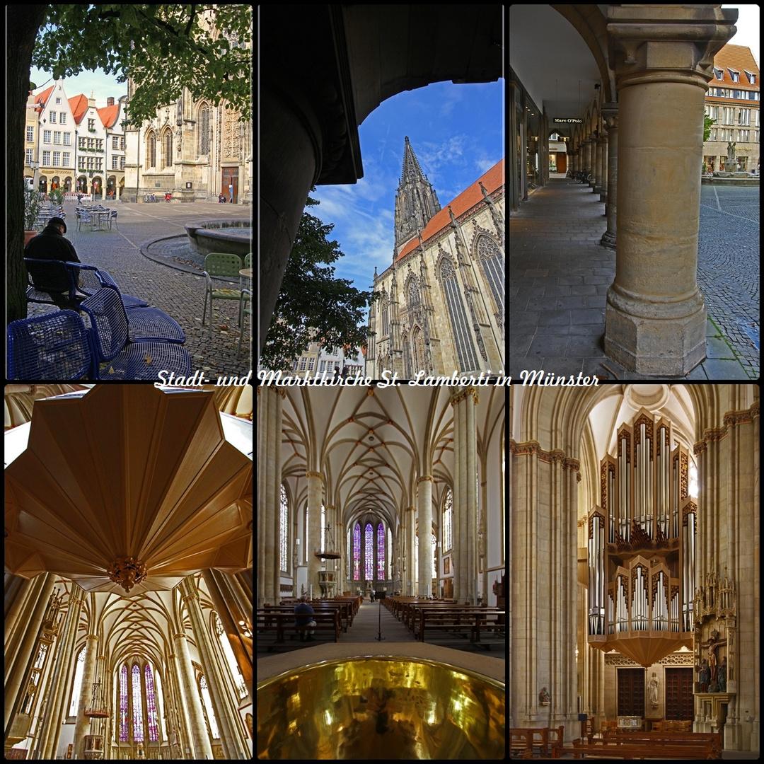 Stadt- und Marktkirche St. Lamberti in Münster ein geschichtsträchtiger Kirchenbau