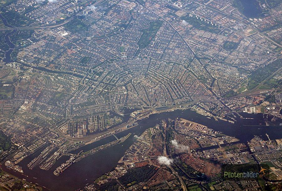 Stadt von oben 1