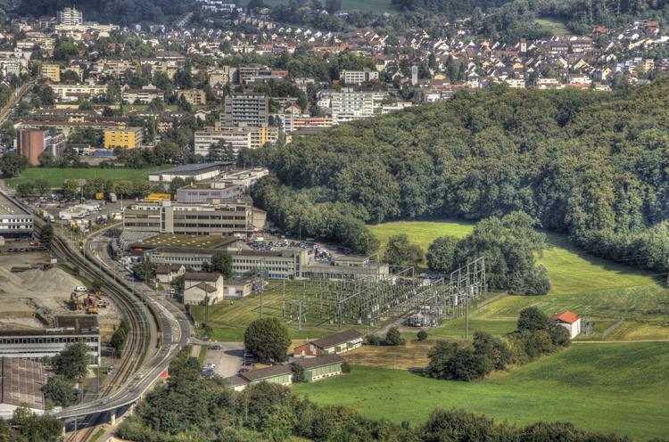 Stadt - Wald - Pratteln